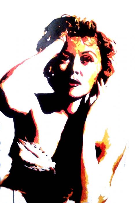 Susan Hayward par Bibourich